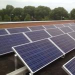 79 duurzame zonnepanelen op pand Eurostaete waarin ACMO is gehuisvest