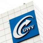 Foto gebouw met logo UWV